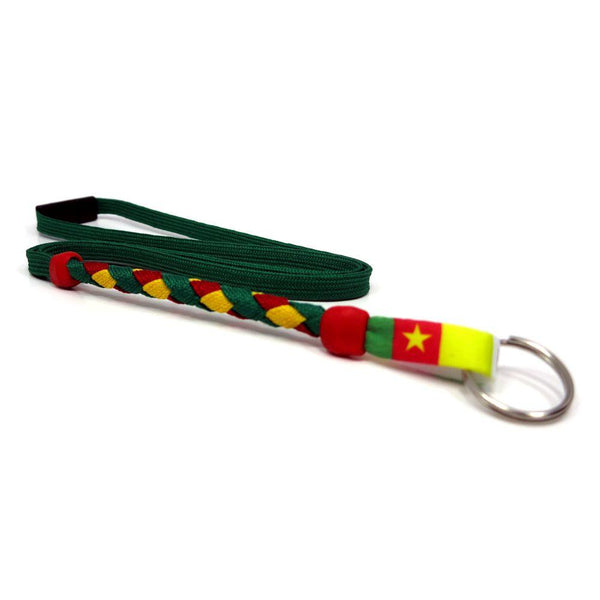 Cameroon Soccer Lanyard - Swannys