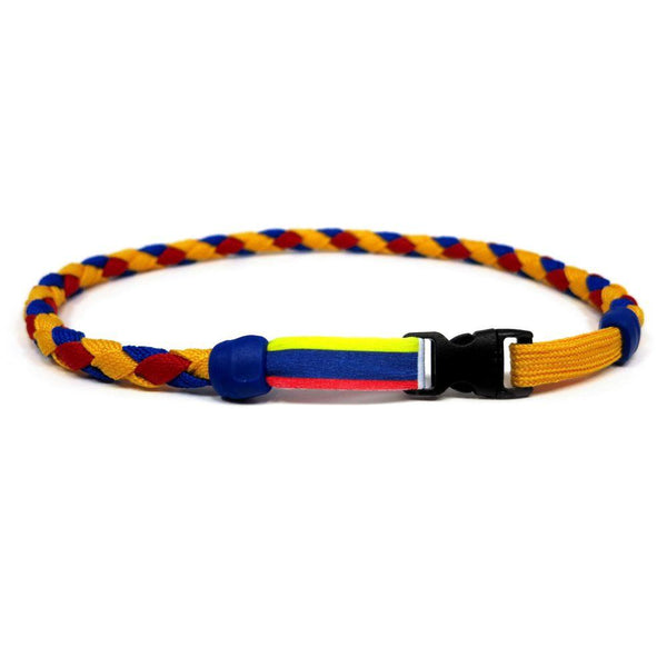Colombia Soccer Necklace - Swannys