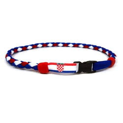 Croatia Soccer Necklace - Swannys