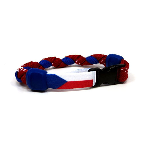 Czech Republic Hockey Bracelet - Swannys