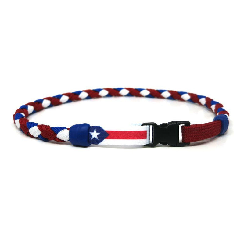 Puerto Rico Soccer Necklace - Swannys