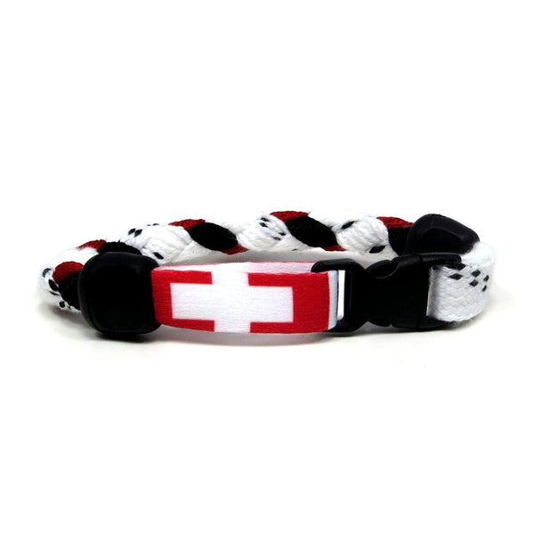 Switzerland Hockey Bracelet - Swannys