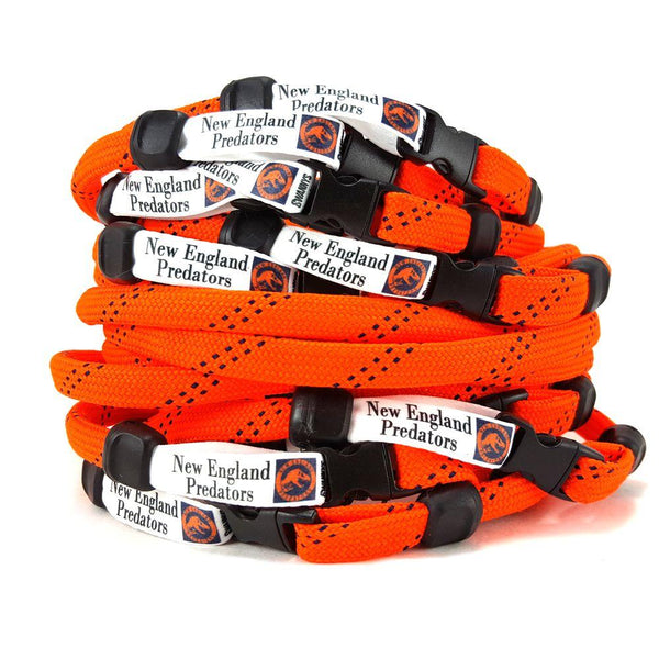 Bulk Order Stuffed Hockey Lace Necklaces by Swannys