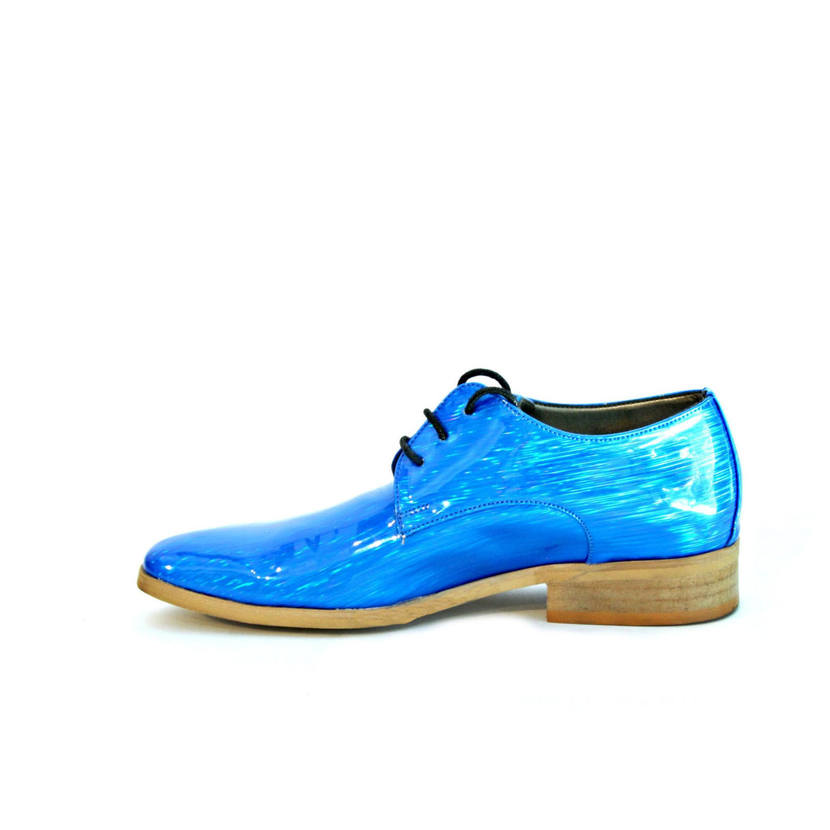 VEGAN Electric Blue Oxford Women's Shoes