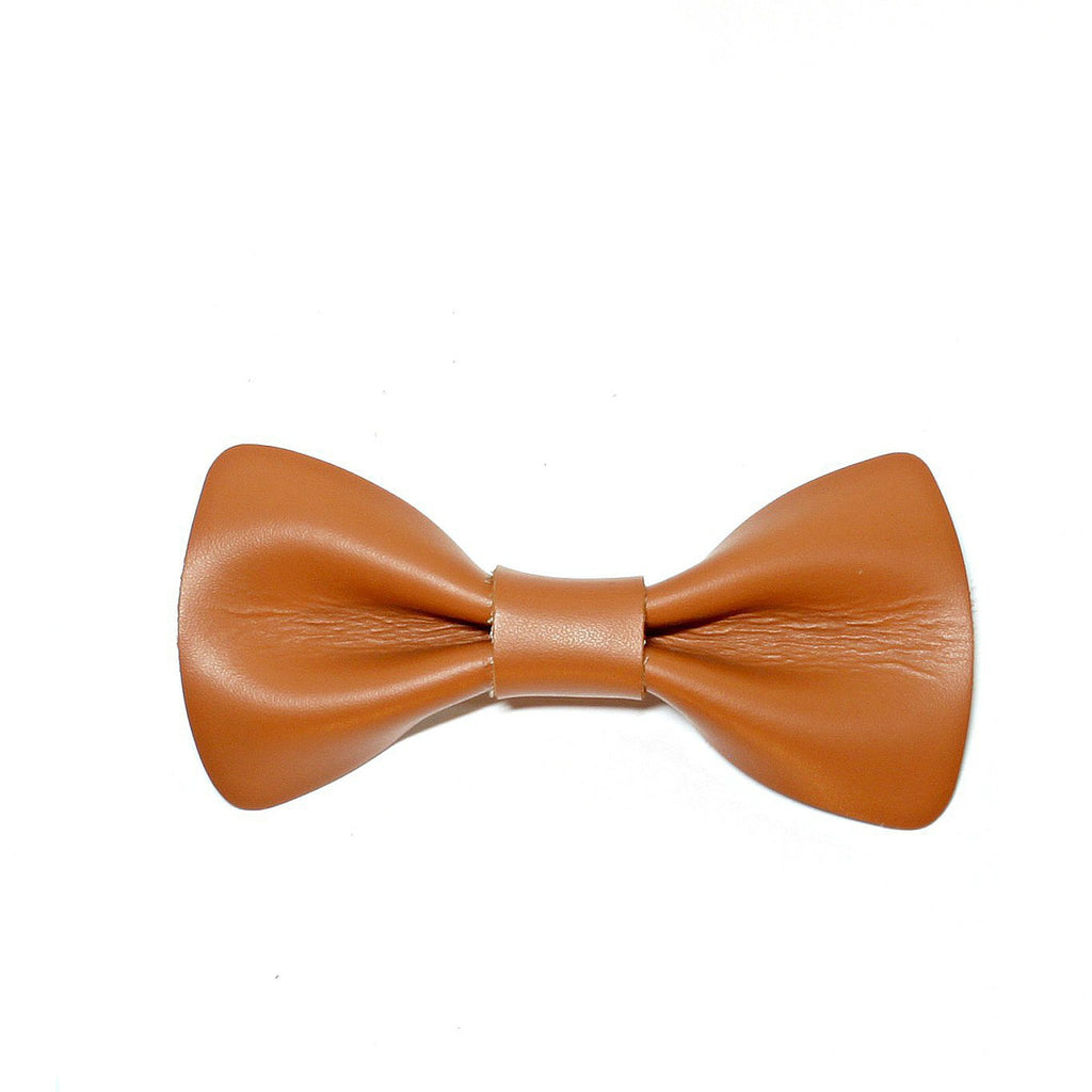 Bright Brown Bow Tie