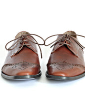 Classic Brown Men's Oxford Shoes