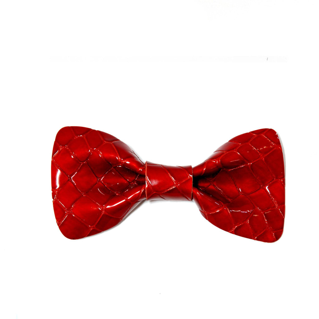 Python Shiny Red Bow Tie