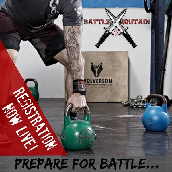 Battle of Britain Throwdown 2016 – 'First Blood' WOD Online Qualifiers Open Mon 11th Jan!