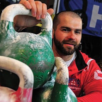 Nick Johnson - From 'Fat Lad' to Team England Kettlebell Champion