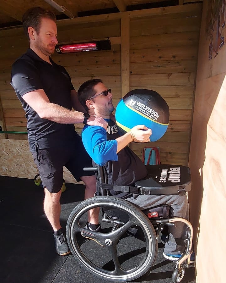 Nigel Barber Adaptive Athlete