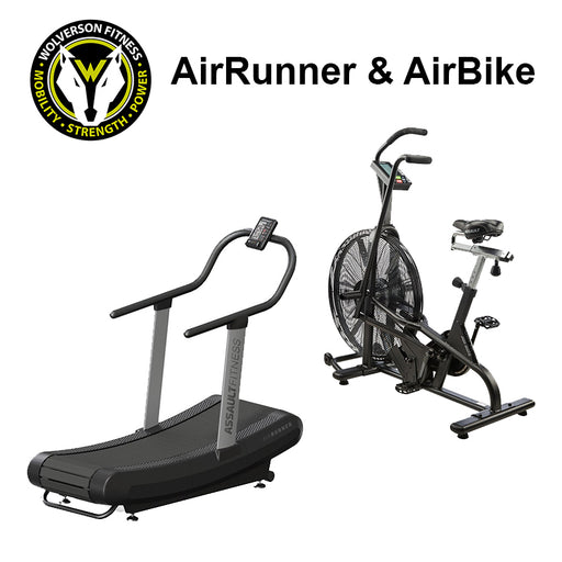 AirRunner & AirBike Package - Wolverson Fitness