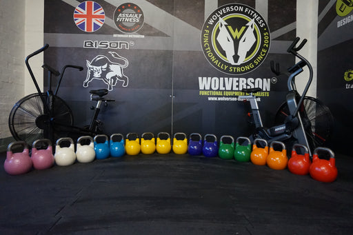 Competition Kettlebells (MK2) - Wolverson Fitness