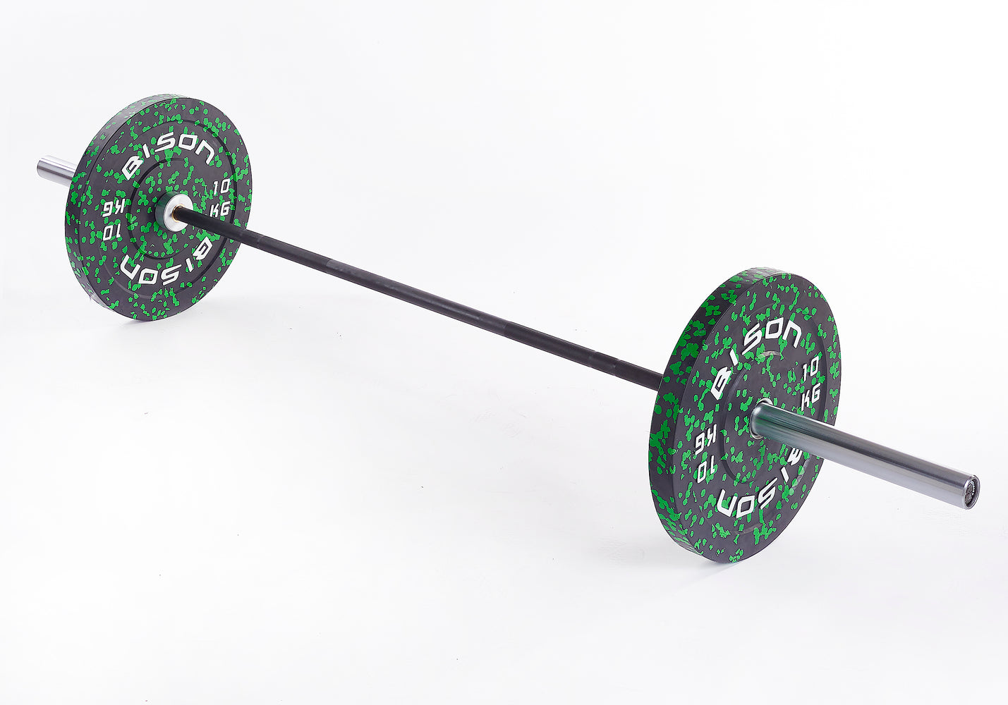 Ladies Foundation Bar & Bumper Plate Packages - Wolverson Fitness