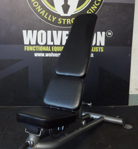Heavy Duty Adjustable Flat/Incline/Decline Bench - Wolverson Fitness