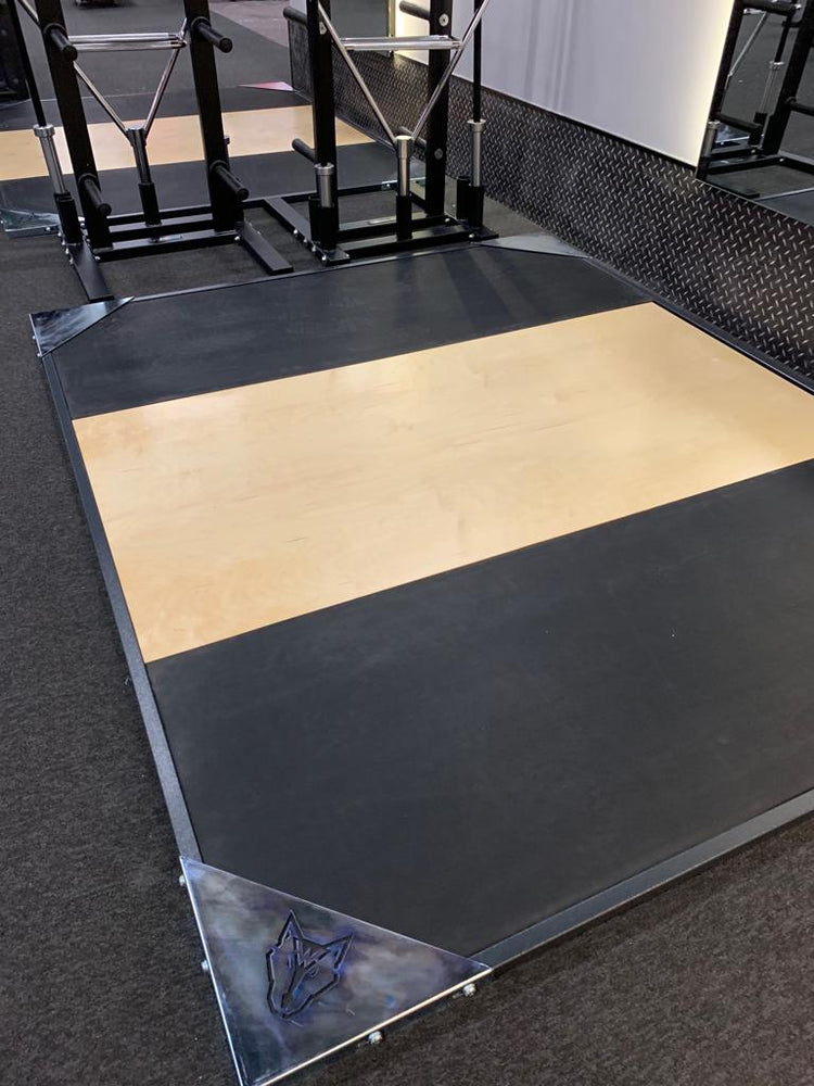 Wolverson™ Club Olympic Lifting Platform - Wolverson Fitness