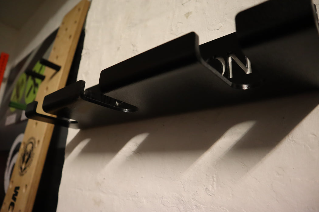 Wolverson Wall mounted Macebell Holder - Wolverson Fitness