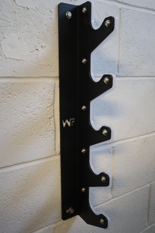 GunRack Wall-Mounted 5 Bar Holder - Wolverson Fitness