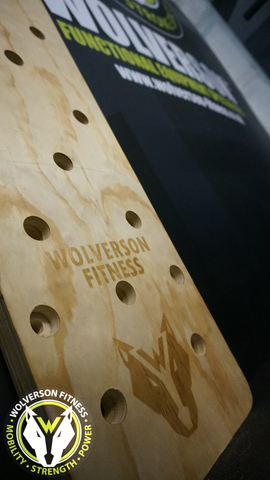 Wolverson Peg Board - Wolverson Fitness