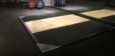 Wolverson™ Premium Olympic Lifting Platform - Wolverson Fitness