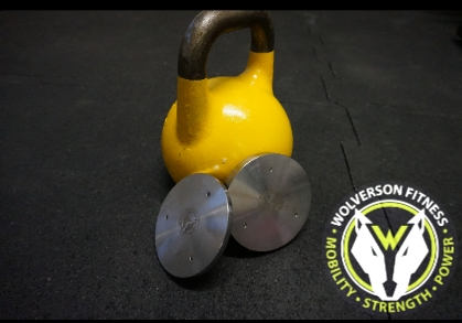 Wolverson Kettlebell Magnetic Plates - Wolverson Fitness