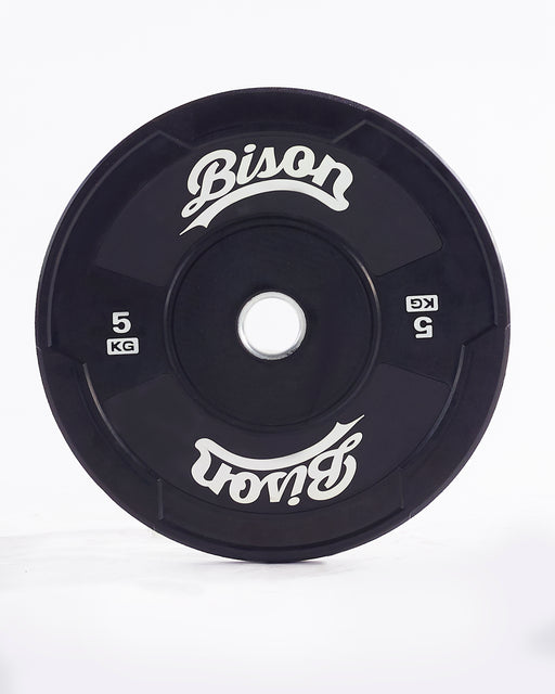 [Limited Edition] Bison™  Black Bumper Plates - Wolverson Fitness