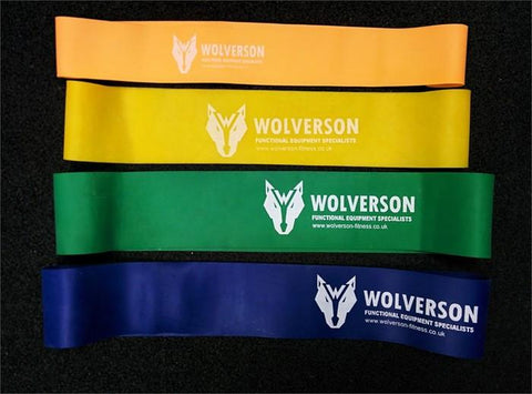 Mini Resistance Band Tone Loops Set - Wolverson Fitness