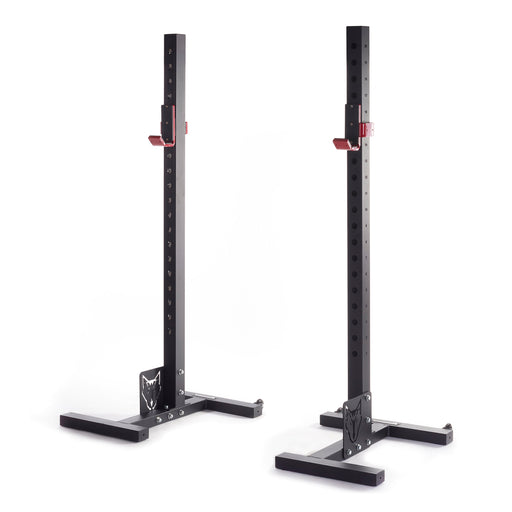 Bison Series Mobile Squat Stand - Wolverson Fitness