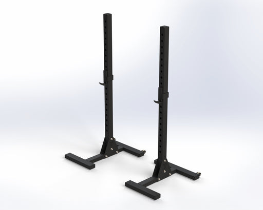 UK Bison Series Mobile Squat Stand