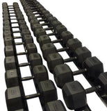 Rubber HEX Dumbbell Sets