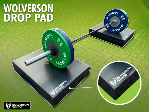 Barbell Drop Pads - Wolverson Fitness