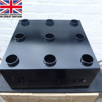 UK Made 9 Bar Upright Holder - Wolverson Fitness