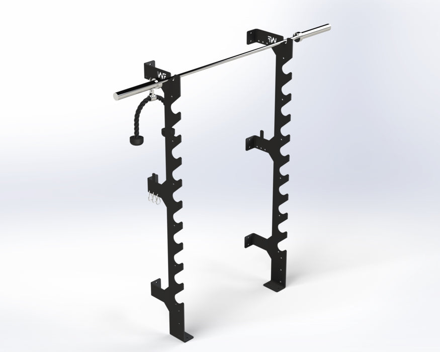 Compact Wall Rack - Wolverson Fitness