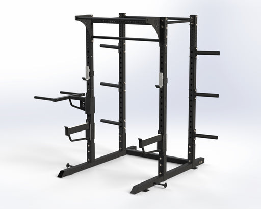 Black Series Full Rack - Wolverson Fitness