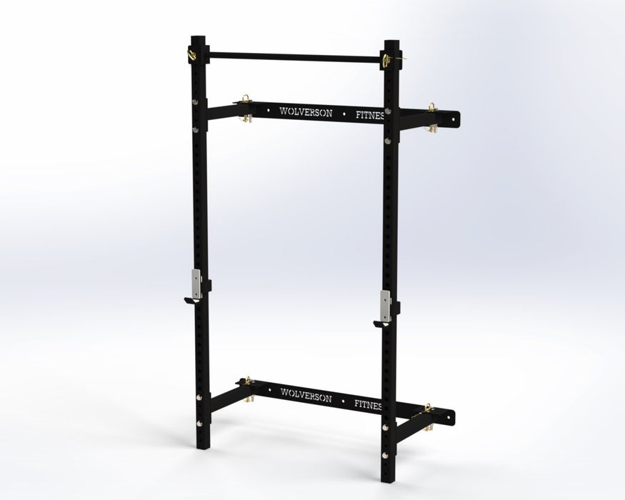UK Made Bison Series Folding Rack - Wolverson Fitness
