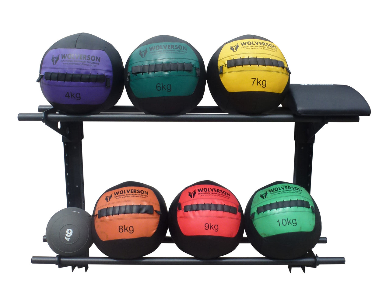 Wall Mounted Wall Ball Storage Racks - Wolverson Fitness