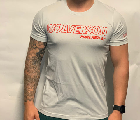 Wolverson Powered By T-Shirt - Wolverson Fitness