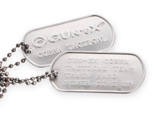 GUN-eX® Tactical dog tags