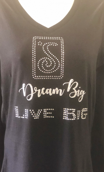 Soroptimist Dream big Live Big shirt - LalaLiv