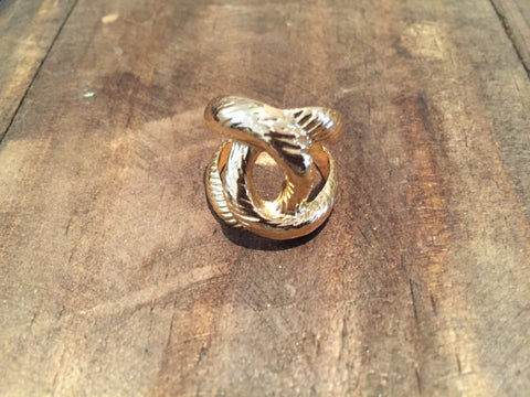 Gold Rope Ring - LalaLiv