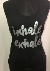 Inhale Exhale Tank Top - LalaLiv