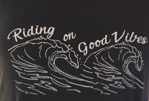 Riding on Good Vibes Shirt
