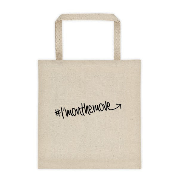 #Imonthemove tote bag - LalaLiv