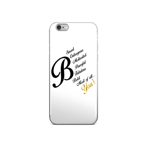 B You iPhone case - LalaLiv