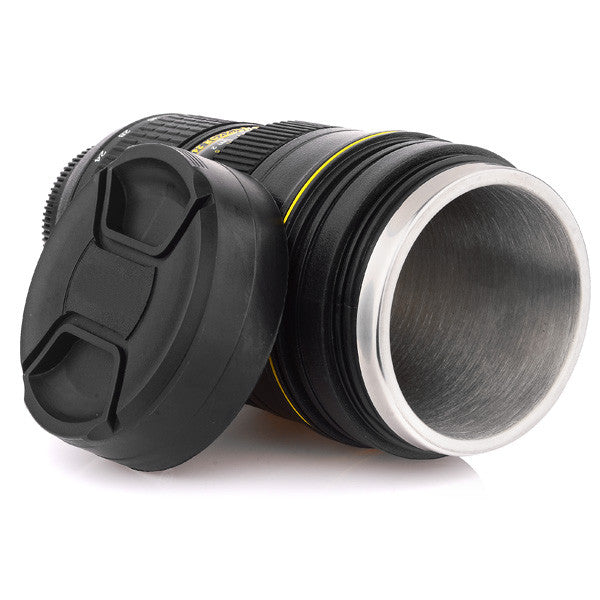 Camera lens Stainless Steel Insulated Coffee mug - LalaLiv
