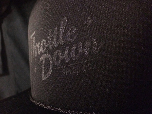 Classic Trucker Hat - Throttle Down Speed Co.