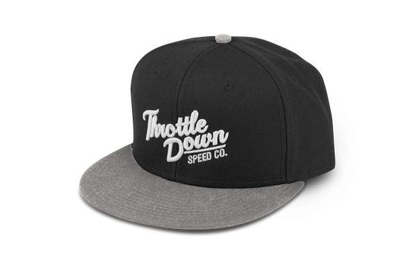 Snapback Hat - Throttle Down Speed Co.