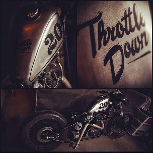 Custom Painted Tank - Throttle Down Speed Co.