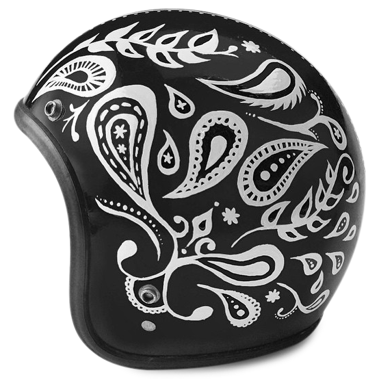 Custom Painted Helmet - Throttle Down Speed Co.