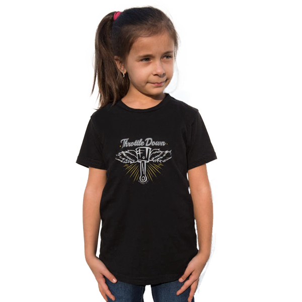 Kids Flying Piston Shirt - Throttle Down Speed Co.