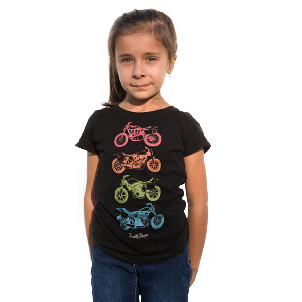 Kids Go Fast Turn Left T-Shirt - Throttle Down Speed Co.